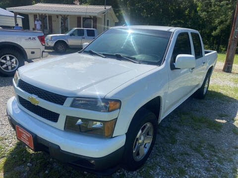 2012 Chevrolet Colorado for sale at Southtown Auto Sales in Whiteville NC