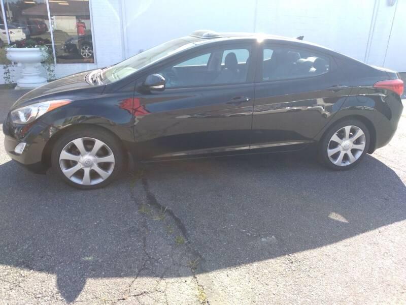 2013 Hyundai Elantra for sale at LYNN MOTOR SALES in Lynn MA