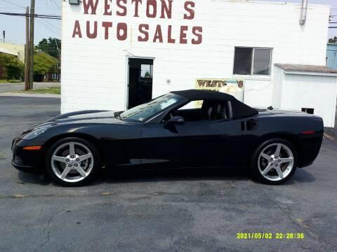2005 Chevrolet Corvette for sale at Weston's Auto Sales, Inc in Crewe VA