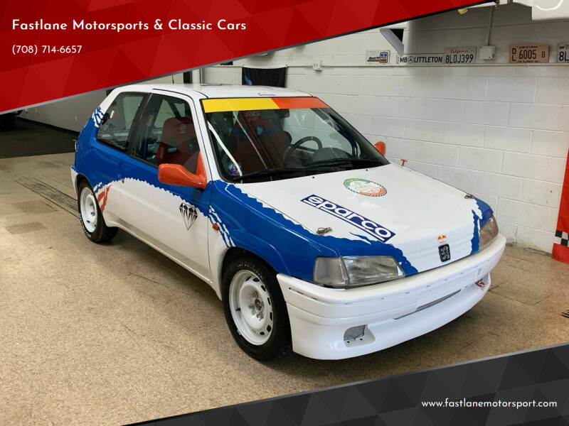 1994 Peugeot 106 for sale at Fastlane Motorsports & Classic Cars in Addison IL