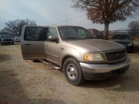 2001 Ford F-150 for sale at KK Motors Inc in Graham TX