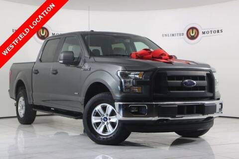 2015 Ford F-150 for sale at INDY'S UNLIMITED MOTORS - UNLIMITED MOTORS in Westfield IN