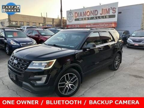 2016 Ford Explorer for sale at Diamond Jim's West Allis in West Allis WI