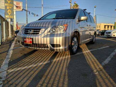 2010 Honda Odyssey for sale at Best Deal Auto Sales in Stockton CA