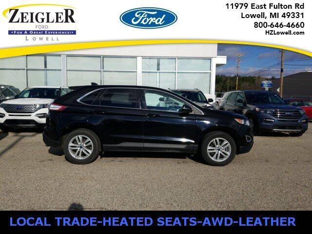 2016 Ford Edge for sale at Zeigler Ford of Plainwell- michael davis in Plainwell MI