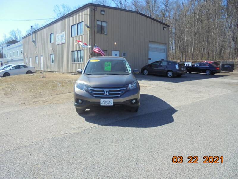 2012 Honda CR-V for sale at Exclusive Auto Sales & Service in Windham NH
