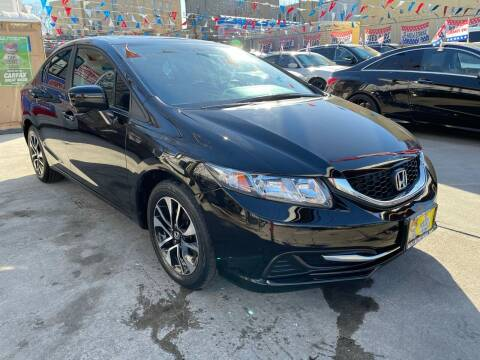 2015 Honda Civic for sale at Elite Automall Inc in Ridgewood NY