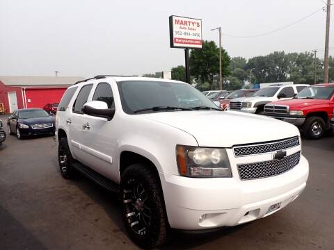 2008 Chevrolet Tahoe for sale at Marty's Auto Sales in Savage MN