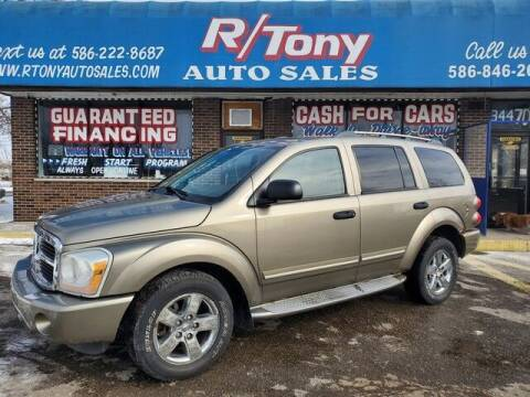 2006 Dodge Durango for sale at R Tony Auto Sales in Clinton Township MI