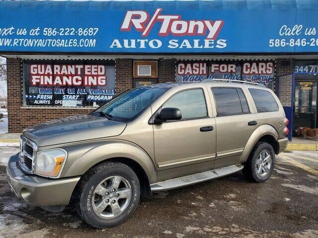 2006 Dodge Durango for sale at R Tony Auto Sales in Clinton Township MI