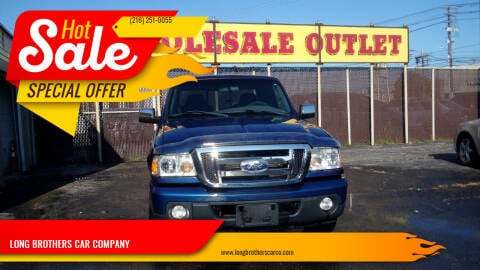 2008 Ford Ranger for sale at LONG BROTHERS CAR COMPANY in Cleveland OH