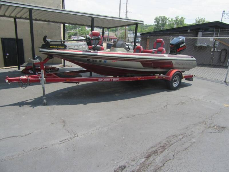 2002 Skeeter sx190 for sale at Riverside Motor Company in Fenton MO