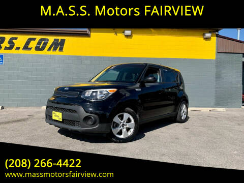2018 Kia Soul for sale at M.A.S.S. Motors - Fairview in Boise ID