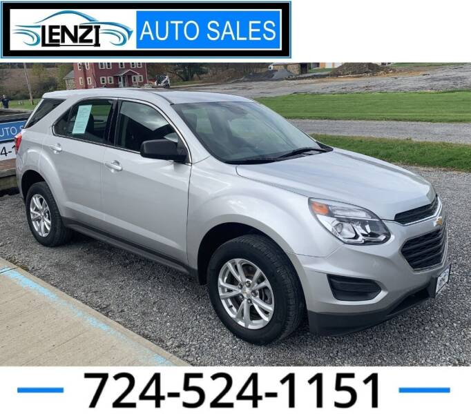 2017 Chevrolet Equinox for sale at LENZI AUTO SALES in Sarver PA