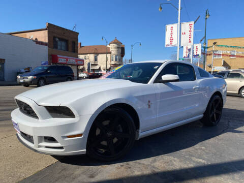 2014 Ford Mustang for sale at Latino Motors in Aurora IL