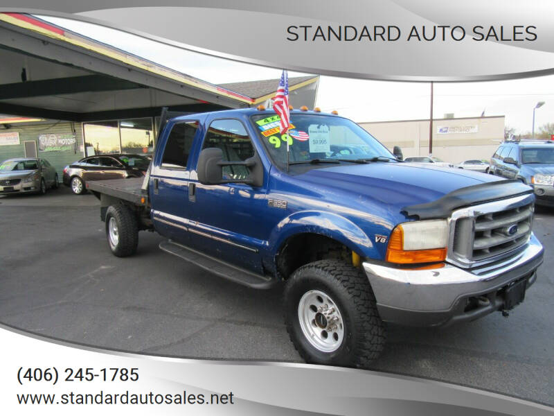 1999 Ford F-350 Super Duty for sale at Standard Auto Sales in Billings MT