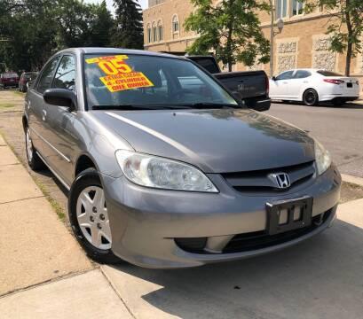 2005 Honda Civic for sale at Jeff Auto Sales INC in Chicago IL