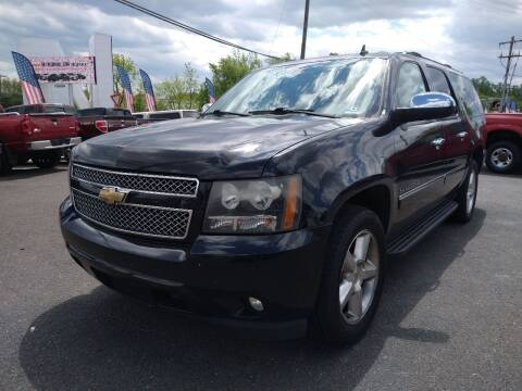 2010 Chevrolet Suburban for sale at P J McCafferty Inc in Langhorne PA