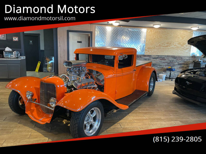 1934 Ford Panel Truck for sale at Diamond Motors in Pecatonica IL