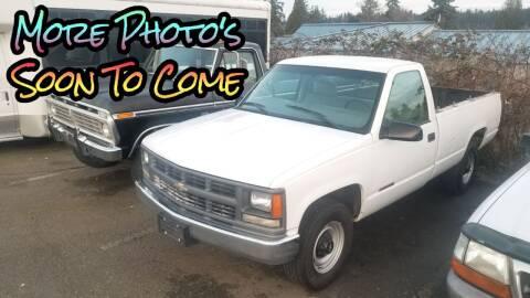 2000 Chevrolet C/K 3500 Series for sale at SS MOTORS LLC in Edmonds WA