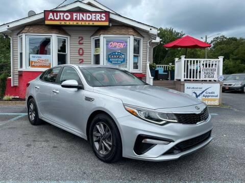 2020 Kia Optima for sale at Auto Finders Unlimited LLC in Vineland NJ