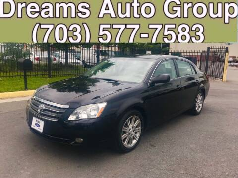 2006 Toyota Avalon for sale at Dreams Auto Group LLC in Sterling VA