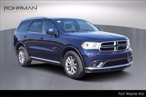 2017 Dodge Durango for sale at BOB ROHRMAN FORT WAYNE TOYOTA in Fort Wayne IN