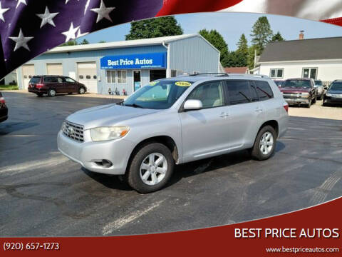 2009 Toyota Highlander for sale at Best Price Autos in Two Rivers WI