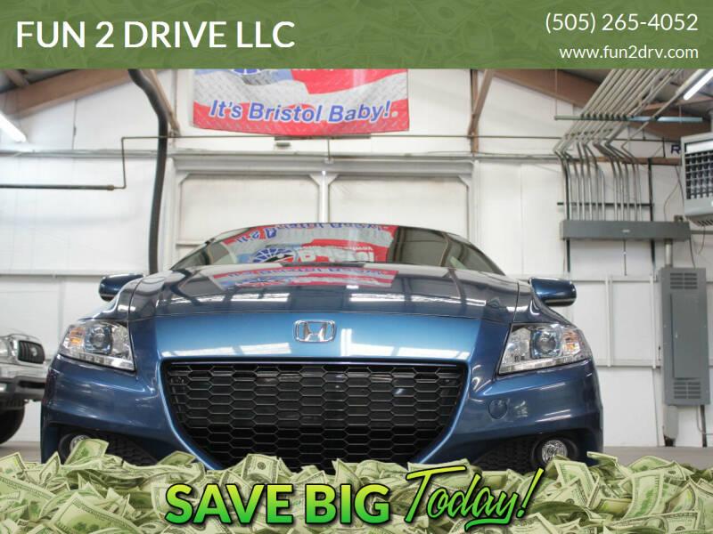 2014 Honda CR-Z for sale at FUN 2 DRIVE LLC in Albuquerque NM