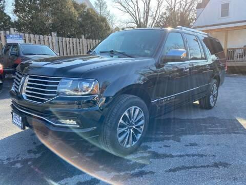 2016 Lincoln Navigator L for sale at SETTLE'S CARS & TRUCKS in Flint Hill VA