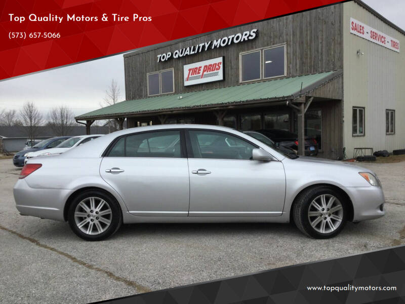 2008 Toyota Avalon for sale at Top Quality Motors & Tire Pros in Ashland MO