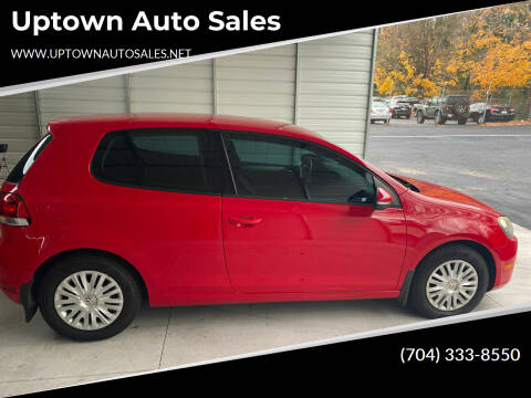 2011 Volkswagen Golf for sale at Uptown Auto Sales in Charlotte NC