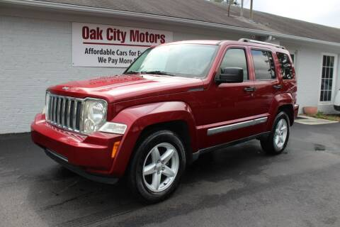 2012 Jeep Liberty for sale at Oak City Motors in Garner NC