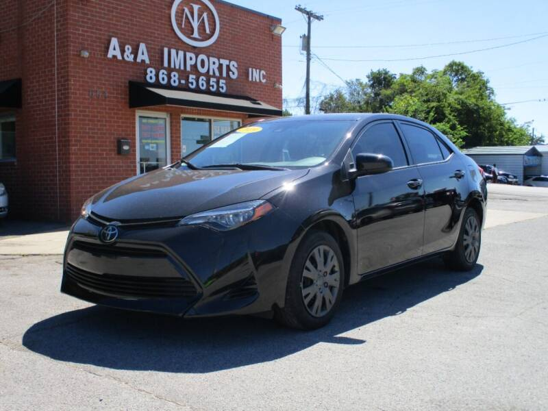 2019 Toyota Corolla for sale at A & A IMPORTS OF TN in Madison TN