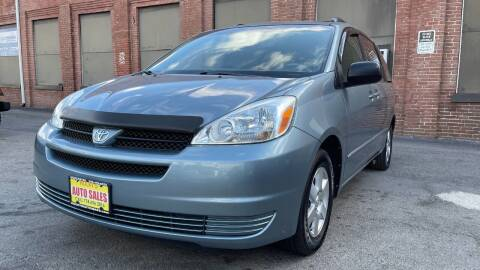 2004 Toyota Sienna for sale at Rocky's Auto Sales in Worcester MA