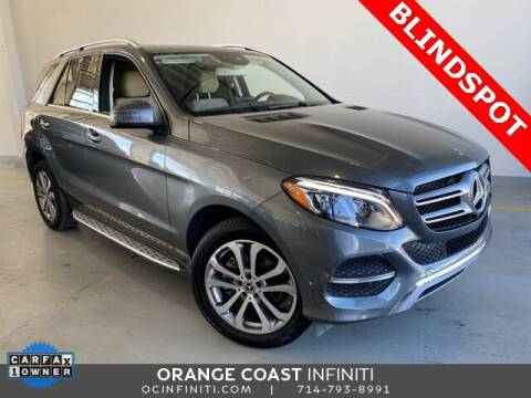2018 Mercedes-Benz GLE for sale at ORANGE COAST CARS in Westminster CA