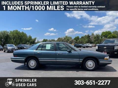 1995 Buick Park Avenue for sale at Sprinkler Used Cars in Longmont CO