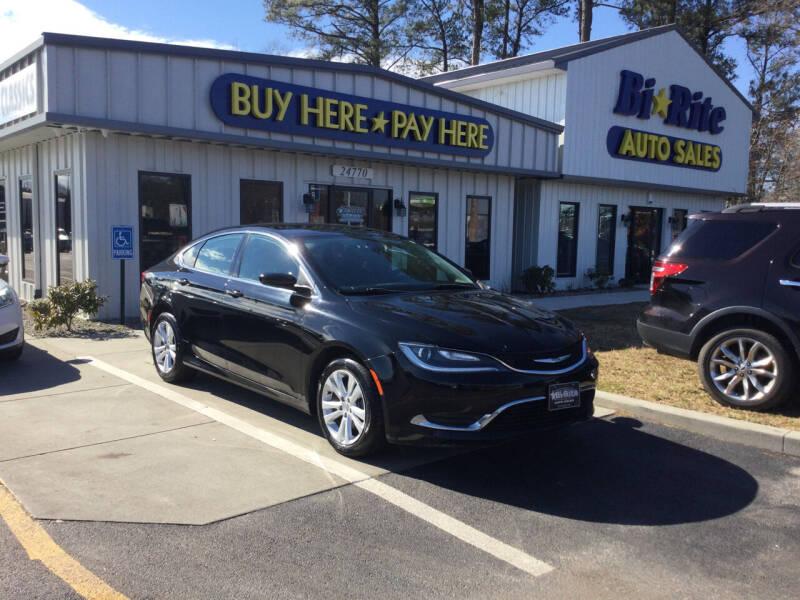 2015 Chrysler 200 for sale at Bi Rite Auto Sales in Seaford DE