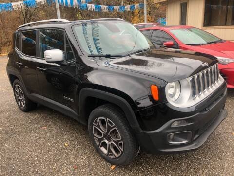 2016 Jeep Renegade for sale at Matt Jones Preowned Auto in Wheeling WV