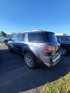 2013 GMC Acadia for sale at Jeff's Sales & Service in Presque Isle ME