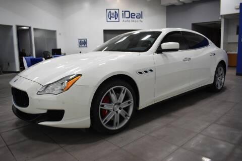 2014 Maserati Quattroporte for sale at iDeal Auto Imports in Eden Prairie MN