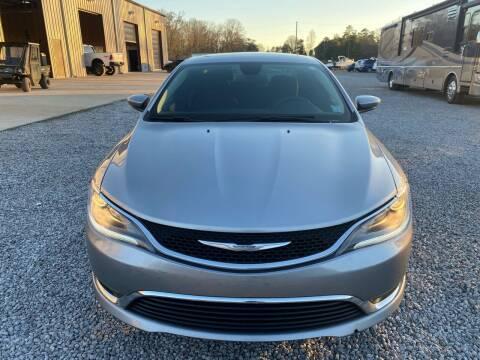 2016 Chrysler 200 for sale at Alpha Automotive in Odenville AL