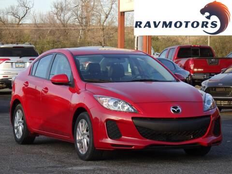 2013 Mazda MAZDA3 for sale at RAVMOTORS in Burnsville MN