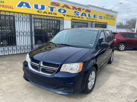 2014 Dodge Grand Caravan for sale at Sam's Auto Sales in Houston TX