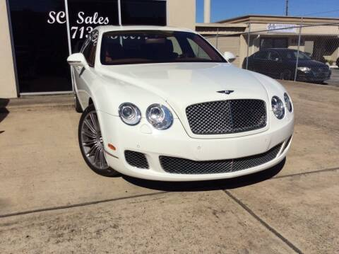 2011 Bentley Continental for sale at SC SALES INC in Houston TX