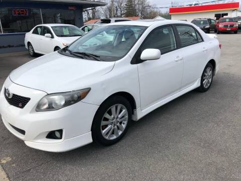 2010 Toyota Corolla for sale at Wise Investments Auto Sales in Sellersburg IN