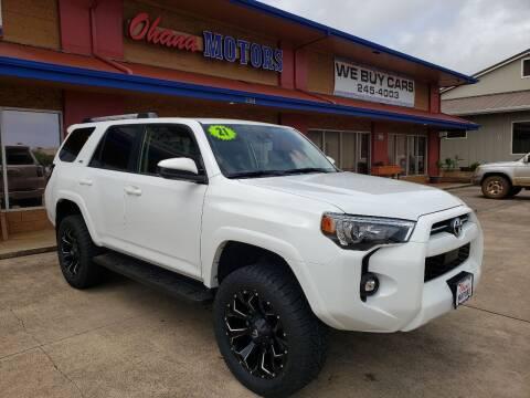 2021 Toyota 4Runner for sale at Ohana Motors in Lihue HI
