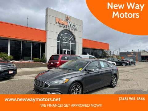 2017 Ford Fusion for sale at New Way Motors in Ferndale MI