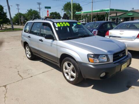2003 Subaru Forester for sale at Super Trooper Motors in Madison WI