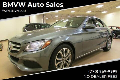 2017 Mercedes-Benz C-Class for sale at BMVW Auto Sales in Union City GA